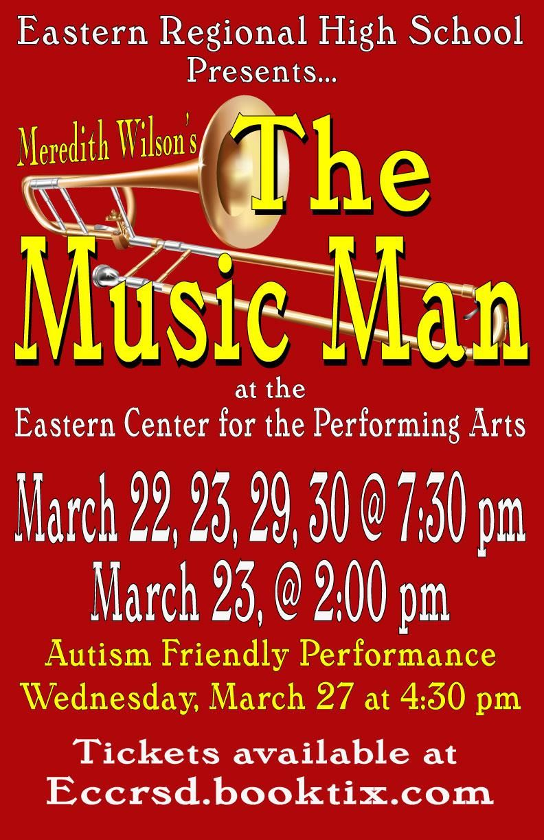 The Music Man flyer